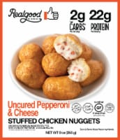 Realgood Uncured Pepperoni and Cheese Stuffed Chicken Nuggets