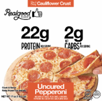 Realgood Pizza All Natural Uncured Frozen Pepperoni Pizza