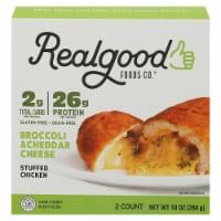 Realgood Broccoli & Cheddar Cheese Stuffed Chicken