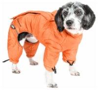 Pet Life JKHL6ORLG Helios Thunder-crackle Full-Body Waded-Plush Adjustable and 3M Reflective - 1