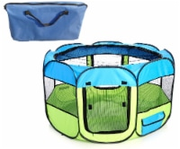 Pet Life LLC 1PPYLBMD All-Terrain' Lightweight Easy Folding Wire-Framed Collapsible Travel Pe