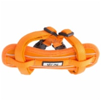Pet Life HA2ORMD Mountaineer Chest Compression Adjustable Reflective Easy Pull Dog Harness, O - 1