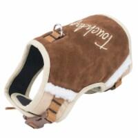 Pet Life HA20DBRMD Touchdog Tough-Boutique Adjustable Fashion Dog Harness, Dark Brown - Mediu - 1