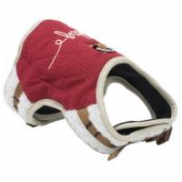 Pet Life HA20DPKXS Touchdog Tough-Boutique Adjustable Fashion Dog Harness, Dark Pink - Extra - 1