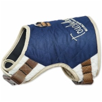 Pet Life HA20DBLSM Touchdog Tough-Boutique Adjustable Fashion Dog Harness, Dark Blue - Small - 1