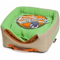 Pet Life PB31GNLG Touchdog Convertible and Reversible Squared 2-in-1 Dog Bed - 1