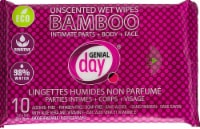 Genial Day Bamboo Wet Wipes Unscented
