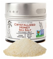 Gustus Vitae Crystallized Honey Gourmet Sea Salt