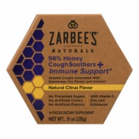 Zarbee's Naturals 96% Honey Cough Soothers & Immune Support  - 1 Each - .9 FZ - Case of 1 - .9 OZ each