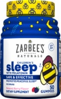Zarbee's Naturals Children's Sleep with Melatonin Natural Berry Flavor Gummies