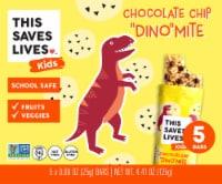 This Saves Lives Kids Chocolate Chip Dino-Mite Bars - 5 ct / 0.88 oz