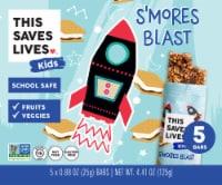 This Saves Lives Kids S'mores Blast Bars - 5 ct / 0.88 oz