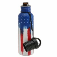BottleKeeper The Standard 2.0 Insulated Bottle Koozie 12 oz. American Graffiti 1 pk - Case - Count of: 1