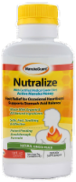 Nutralize Heartburn Relief Ginger Peach Liquid