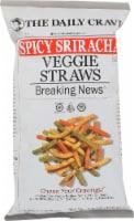 The Daily Crave Spicy Sriracha Veggie Straws