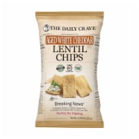The Daily Crave Aged White Cheddar Lentil Chips