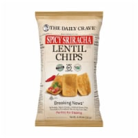 The Daily Crave Spicy Sriracha Lentil Chips