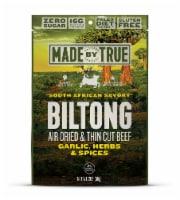 True Jerky Gluten Free South African Savory Beef Biltong Jerky