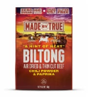 True Jerky Gluten Free Hint of Heat Beef Biltong Jerky