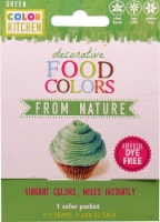 Color Kitchen  Decorative Food Colors From Nature Green