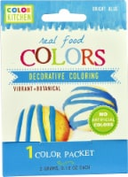 Color Kitchen  Real Food Colors Blue