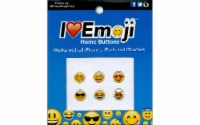 Petersen Arne I Love Emoji Home Buttons - 6 Piece - 6 pc
