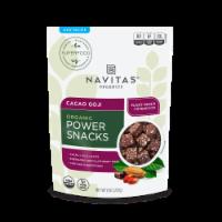 Navitas Naturals Cacao Goji Organic Power Snacks - 8 oz