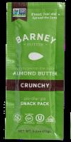 Barney Butter Crunchy Almond Butter Snack Pack - 0.6 oz
