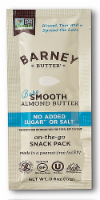 Barney Butter No Added Sugar or Salt Bare Smooth Almond Butter Snack Pack