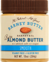 Barney Butter Smooth Almond Butter - 10 oz
