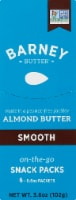 Barney Butter Smooth Almond Butter On-The-Go Snack Packs 6 Count