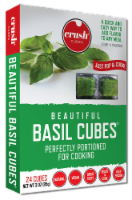 Crush Beautiful Basil Frozen Cubes