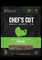 Chef's Cut Real Teriyaki Turkey Jerky Original Recipe