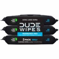 DUDE Wipes Fragrance Free Flushable Wipes