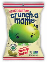 Eda-Zen  Crunch-a-Mame® Organic Edamame Puffs Gluten Free   Savory Seasoned Nearly Naked