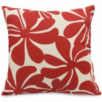 Outdoor Red Plantation Large Pillow 20x20