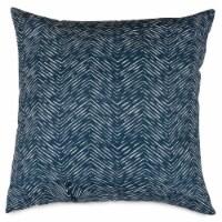 Outdoor Navy Navajo Large Pillow 20x20