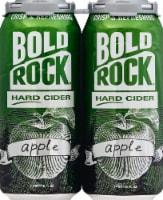 Bold Rock Hard Apple Cider - 4 pk / 16 fl oz