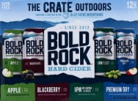 Bold Rock The Crate Outdoors Hard Cider Variety Pack