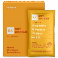 RX Nut Butter Honey Cinnamon Peanut Butter Nut & Protein Spread 10 Count