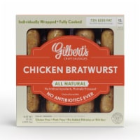 Gilbert's Craft Sausages Chicken Bratwurst with Sauteed Onions - 10 oz