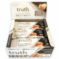 Truth Bar Chocolate Almond Crunch Probiotic Bars 12 Count