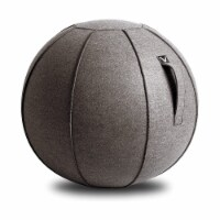 Vivora Luno Classic Felt Sitting Ball with Handle for Home and Office, Clay - 1 Piece