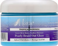 The Mane Choice Tropica Moringa Sweet Oil & Honey Endless Moisture Pearly Braid Out Glaze - 12 fl oz