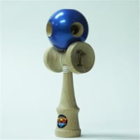 Bahama Kendama BKBMN5-MBL 5 Hole Kendama, Metallic Blue