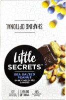 Little Secrets Sea Salted Peanut Dark Chocolate Candies