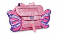 Bixbee Medium Sparkalicious Butterflyer Backpack - Pink
