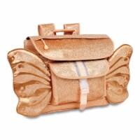 Bixbee Medium Sparkalicious Butterflyer Backpack - Gold