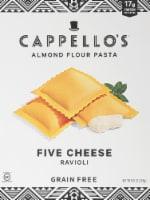Cappello's Five Cheese Ravioli Almond Flour Pasta - 9.9 oz