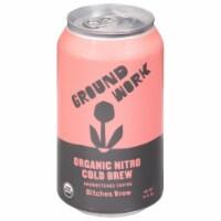 Groundwork Organic Bitches Brew Cold Brew Nitro Coffee